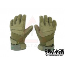 BHD Full Finger Assault Gloves - OD Green(M-XL)